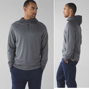 Lululemon Men's Arrival 1/4 Zip Heathered Slate